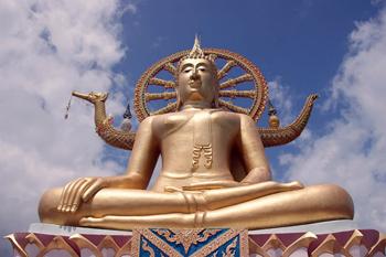 Asien Koh Samui Buddhal